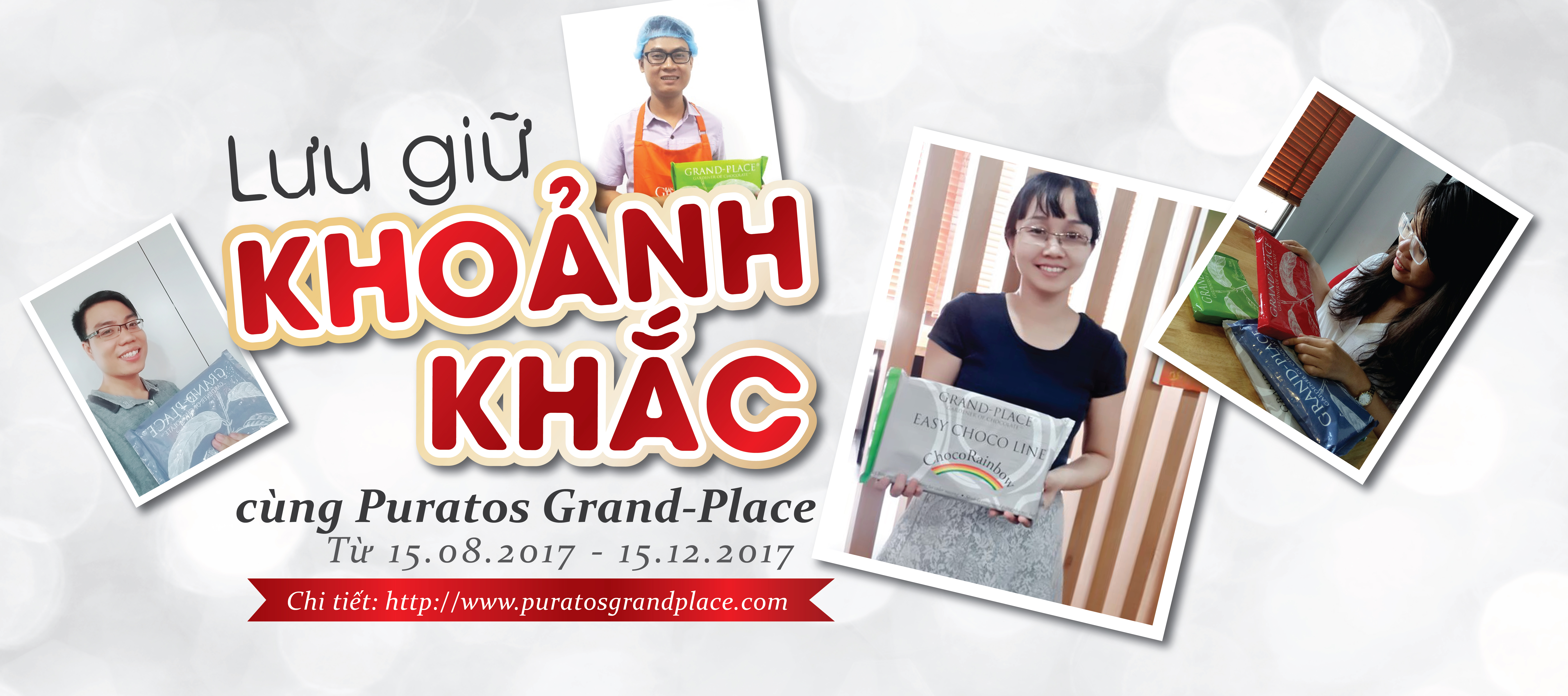 Selfie with Puratos Grand-Place competition